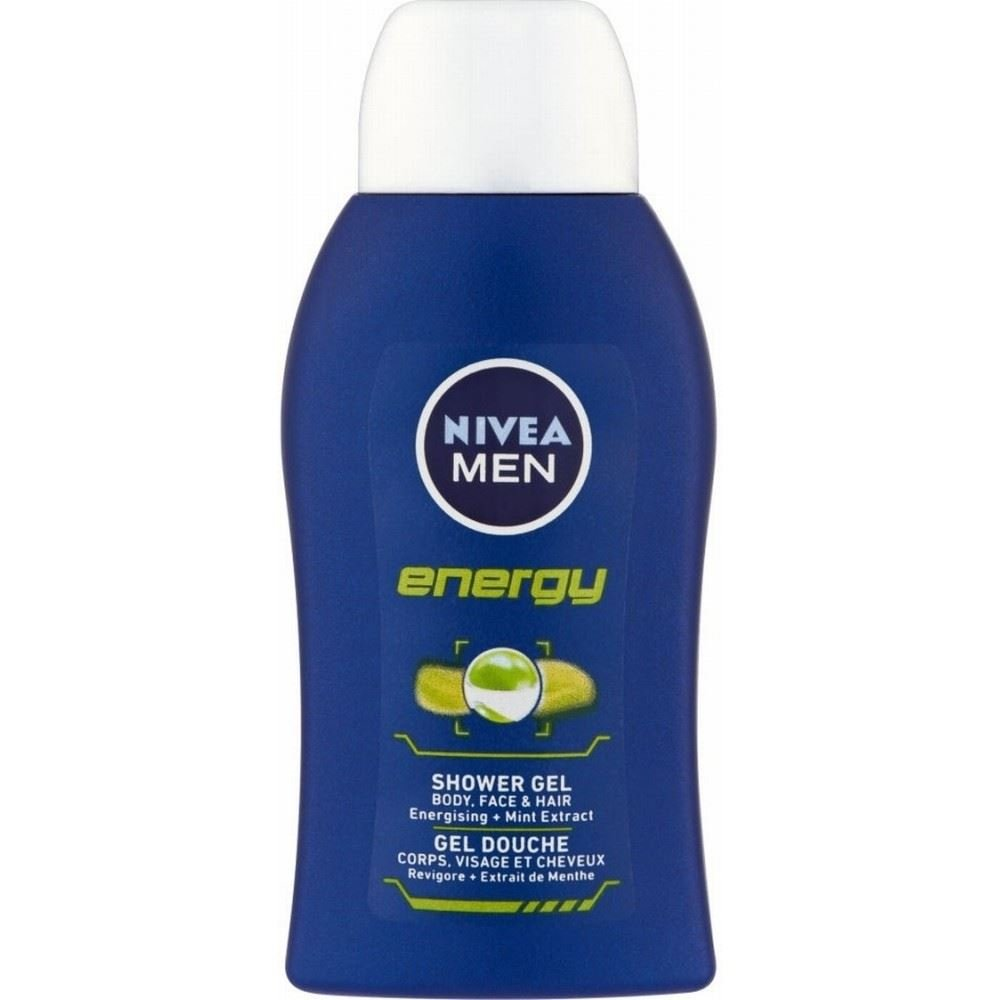 Nivea Men gel de douche - Énergie (50ml) - Paquet de 6