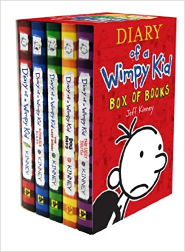 Diary of a wimpy kid box of books jeff kinney 9781419701535 diary of a wimpy kid box of books jeff kinney 9781419701535 amazon books solutioingenieria Gallery
