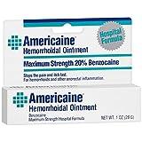 Americaine hemorrhoidal ointment, maximum strength, hospital formula - 1 oz