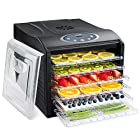 Electric Beef Jerky Countertop Food Dehydrator for a Healthy Diet, Extend Shelf Life