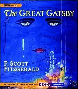 by f scott fitzgerald the great gatsby audiobook amazon com books