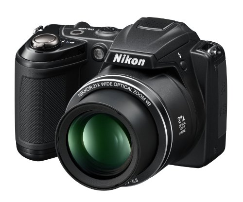 Nikon Coolpix L310 14.1MP Digital Camera with 21x Optical Zoom - - Motion Nikon Detection