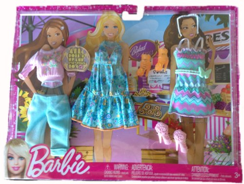 Barbie Doll Outfits 2013 Shopping (Mattel Barbie Clothes)