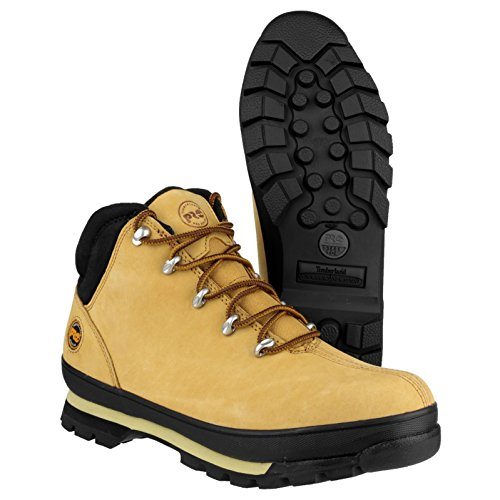 Timberland Mens Splitrock PRO Lace up Leather Work Safety Boot Wheat