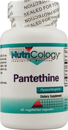 NutriCology Pantethine -- 60 Vegetarian Capsules - 3PC by Nutricology