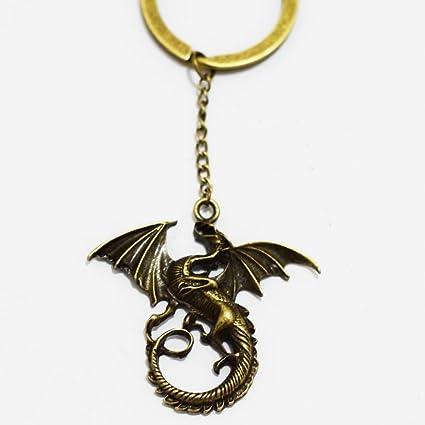 Dragon Charm llavero, con llavero, Mimi llavero dragón ...