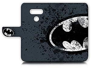 LG G6 Flip Wallet Case Cover & Screen Protector Bundle! A8183 Batman at Gotham City Store