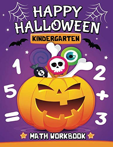 Halloween Kindergarten Math Workbook: Easy and Fun Activity Book for -
