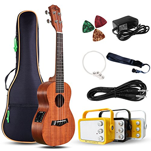 Electric Concert Ukulele With Amp | 23