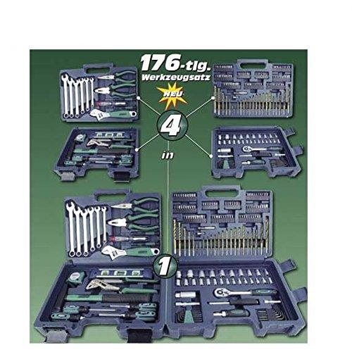 Mannesmann M29086-176 piezas Juego de herramientas