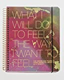 The Desire Map Planner from Danielle LaPorte 2018 Weekly (Pinks & Gold)