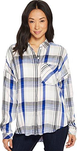 e Back Boyfriend Shirt Heritage Rose Plaid X-Small (Heritage Plaid Shirt)