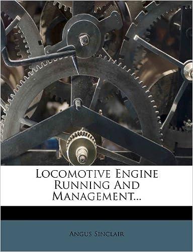 Locomotive Engine Running And Management...