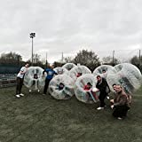 BubbleU24(TM) 8 Bubble Balls Package for Bubble Soccer Football Inflatable Human Zorb Ball Bumper with 1 Free Pump