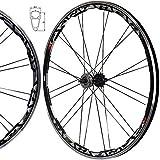 Stars Rim Fixie Freewheel Single Speed Wheel Wheelset Black