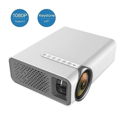 XRLTYY Proyector LED Casero, Proyector de Video Portátil ...