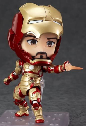 Nendoroid Iron Man 3 Iron Man Mark 42 Heroes Edition + Hall of armor sets (non-scale ABS & PVC painted action figure) (japan import)