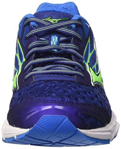Pour Catalyst Vert Chaussures Aster Bleu Hommes 2 Wave Bleu Gymnastique Mizuno Blu Gecko De imprim FHFqWrE4