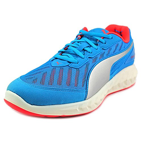 PUMA Men's Ignite Ultimate Running Shoe, Atomic Blue/Red Blast, 8 D US