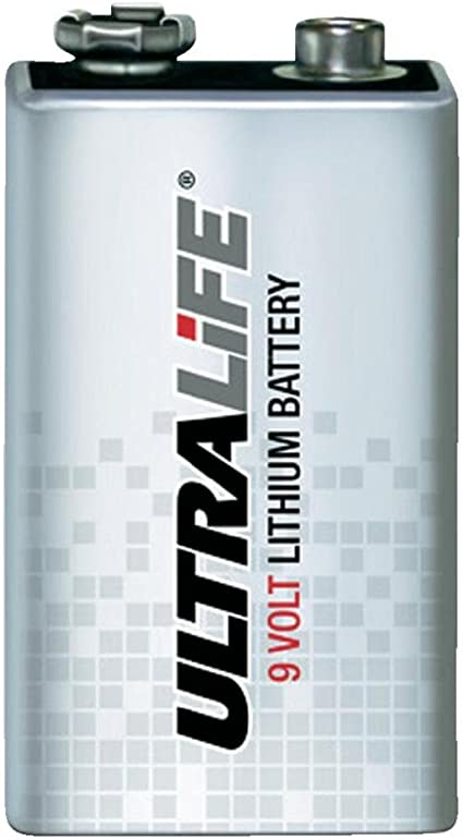 Ultralife Lithium Batterie 9v 1200mah Elektronik