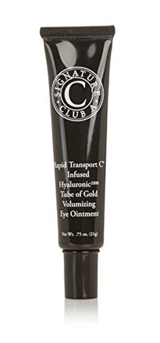 Signature Club A by Adrienne Rapid Transport C Infused Hyaluronic 1000 Tube of Gold Volumizing Eye FULL RETAIL SIZE