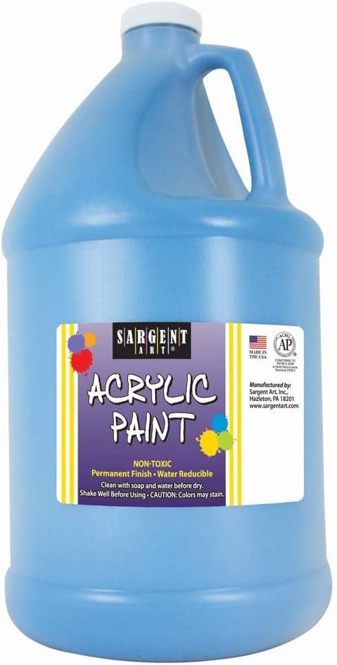 Sargent Art, Turquoise, Acrylic Paint, 64 oz. Bottle
