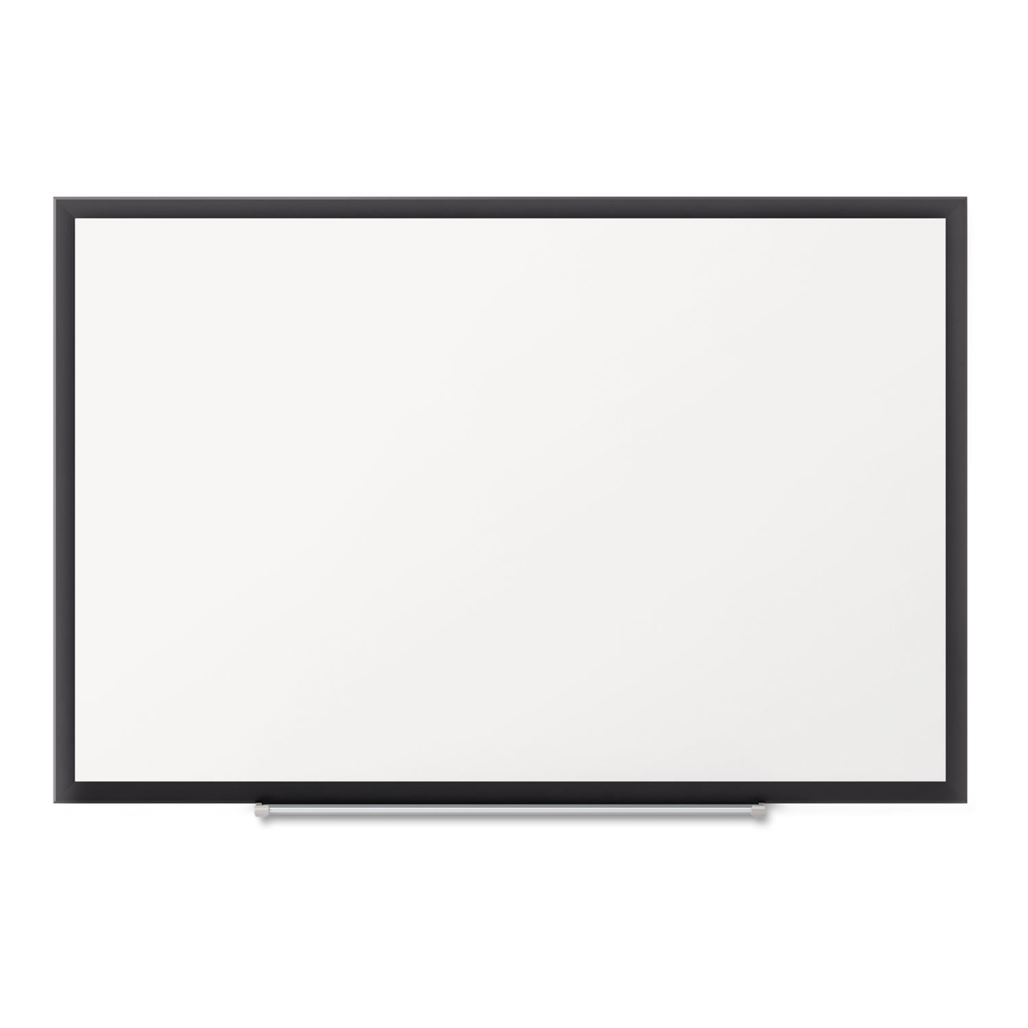 Classic Magnetic Whiteboard, 36 X 24, Black Aluminum Frame By: Quartet