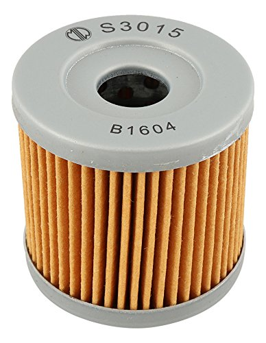 MIW S3015-001 Oil Filter for Kawasaki KFX400 03 04 05 06 16510-29F00,3470-008, KLX400R 03 16510-29F00,3470-008, KLX400R CA MODEL CV CARB 04 16510-29F00,3470-008 ()