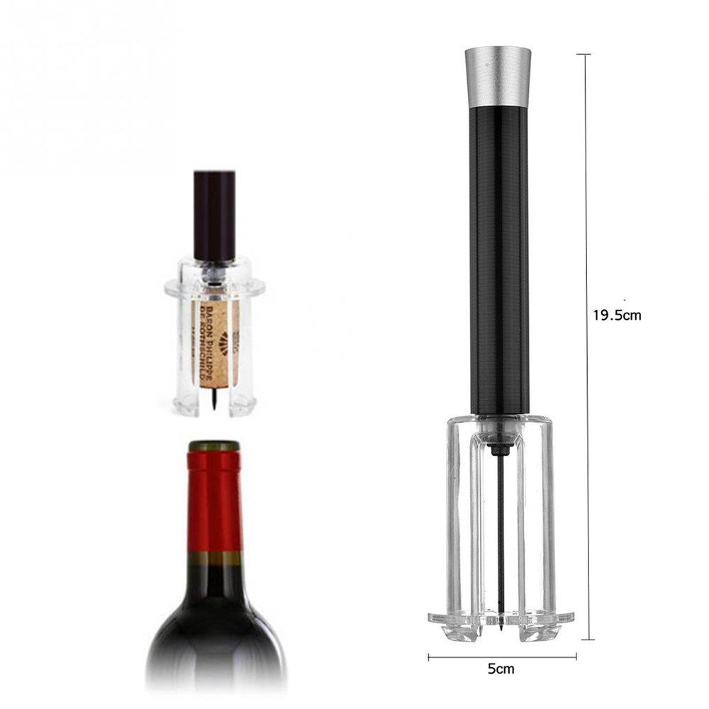 Compra SACACORCHOS A PRESIÓN INNOV4TO + CORTALÁMINAS: Abridor profesional de botellas vino, innovador, sin dañar el corcho, rápido, eficiente, sin esfuerzo ...