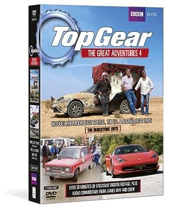 Top Gear - The Great Adventures 4 [Reino Unido] [DVD]: Amazon.es: Jeremy Clarkson, Richard Hammond, James May, Jeremy Clarkson, Richard Hammond, Andy Wilman: Cine y Series TV