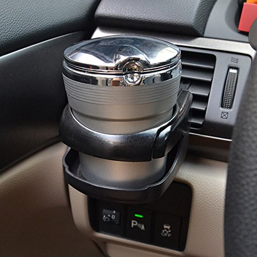 Autoparts Warehouse Black Car Air Vent Outlet Mount Beverage Water Cups Bottle Drink Holder Clip Hot