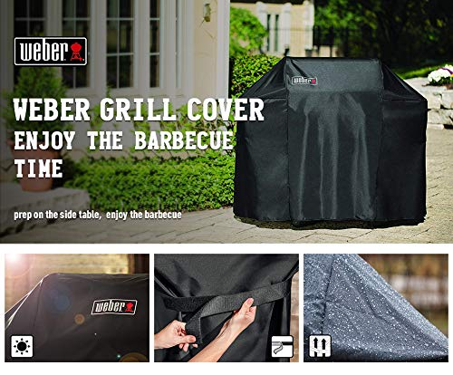 Weber Grill Cover 7106 Cover for Spirit 200 and 300 Series Gas Grill (52L x 26W x 43H inch) by Wecover (Image #7)