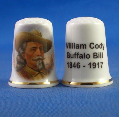Birchcroft in porcellana China Kelkay-Ditale William Cody-Buffalo Bill Birchcroft China