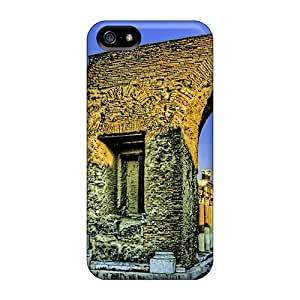 Awesome Case Cover/iphone 5/5s Defender Case Cover(greek Ruins At Sunset Hdr)