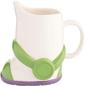 Vandor Disney Toy Story Buzz Lightyear Boot 24 oz. Sculpted Ceramic Mug