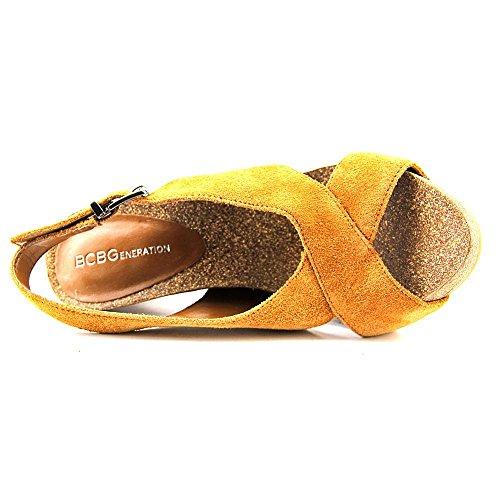 BCBGeneration - Sandalias de vestir para mujer marrón claro