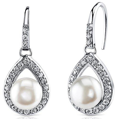 Freshwater Cultured Earrings Sterling Silver