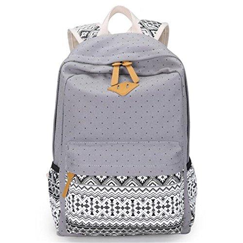 XINYO modische student tasche, persönlichkeit umhängetasche, lady rucksack, wandern, einkaufen, in verschiedenen farben gray