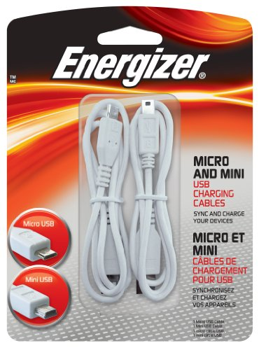 Energizer PC CB70 Micro Charging Cables