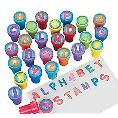 Alphabet Stamps (26Pc) - 26 Pieces - Educational And Learning Activities For Kids: Toys & Games