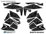 Senge Graphics 2003-2006 Arctic Cat Firecat/Sabercat Mayhem Matte Black Wrap