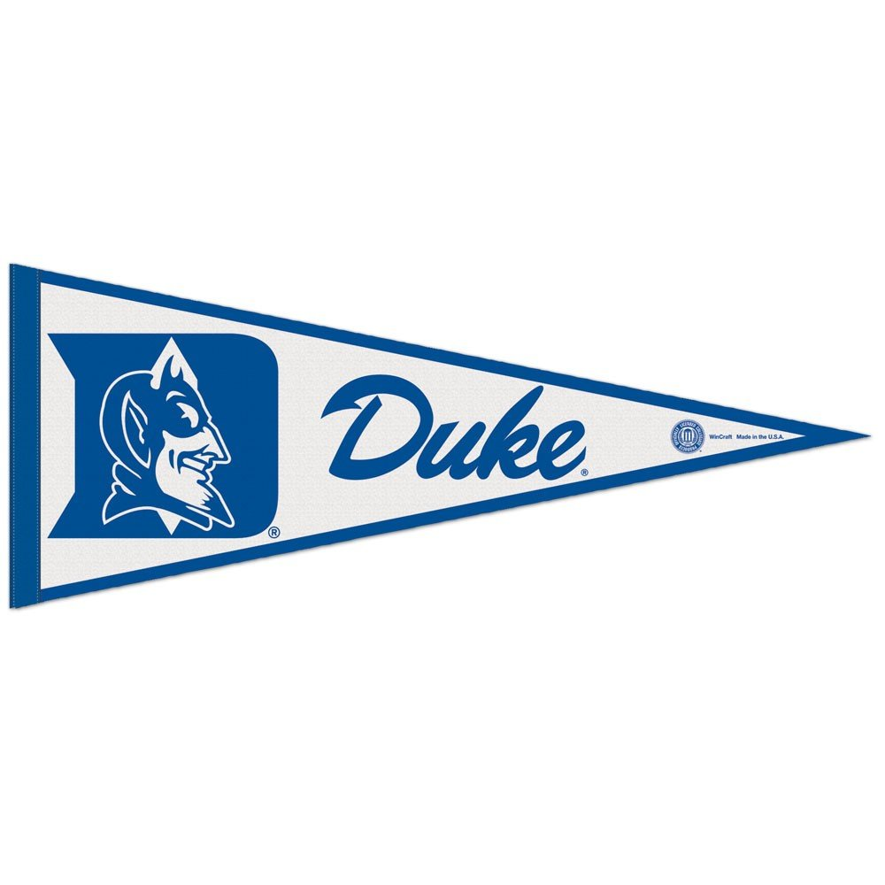 12 x 30 Wincraft NCAA Duke University WCR63902814 Carded Classic Pennant