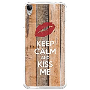 Funda Gel Alcatel OneTouch Idol 3C BeCool Keep Calm and Kiss Me