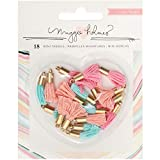 Crate Paper Maggie Holmes Gather Mini Tassels (12 Pack)