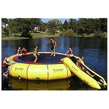 Island Hopper Giant Jump 25' Padded Water Trampoline w/ Warranty & Slide