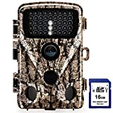 Foxelli Trail Camera - 20MP 1080P HD Wildlife Scouting Hunting Camera with Motion