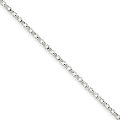 Best Designer Jewelry 14k 3mm Solid Double Link Charm Bracelet
