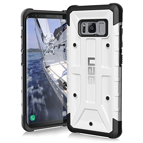 UAG Samsung Galaxy S8 [5.8-inch screen] Pathfinder Feather-Light Rugged [WHITE] Military Drop Tested Phone Case