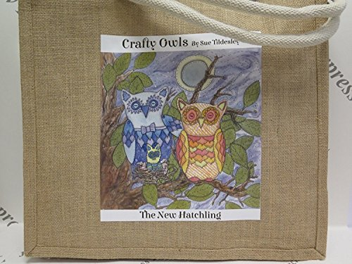 3 Large to from Hatchling Large Hessian Crafty Express Hatchling Owls New or Large in Designs Jute Jackdaw choose New Medium Bag Range pP4ZUnnq