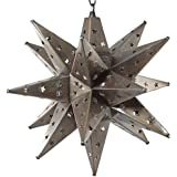 Moravian Star Light, Star Pierced Tin, Bronze, 15""